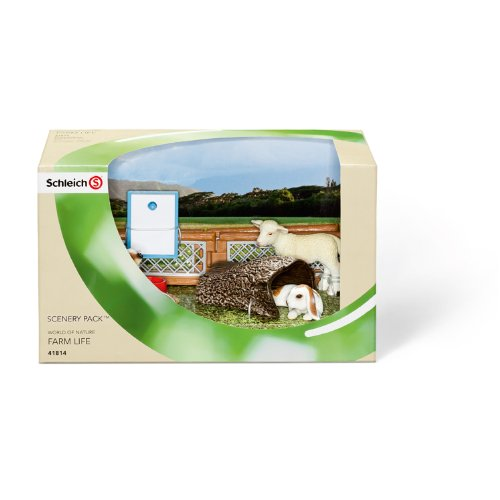 Schleich Childrens Zoo Scenery Pack