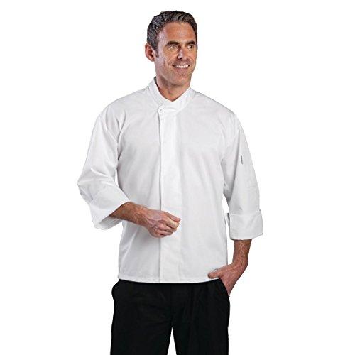 Whites Chefs Kleidung a098-xs Orlando Köche Tunika, Größe XS, weiß (Koch Tunika)