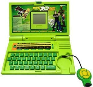 BAJARANG ENTERPRISE Ben 10 English Learner Laptop for Kids , 20 Activities