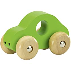 Fashy 1903 60 Coche de juguete hecho de madera verde