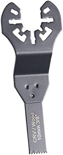 AGT Professional Sägeblätter: Standard-Tauchsägeblatt für Multitools, 10 mm, CRV, Schnellspannung