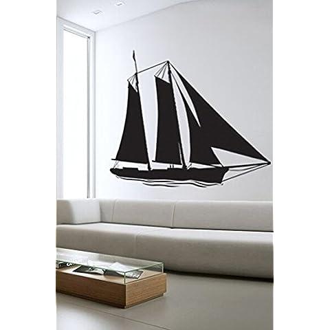 SWSD (TM)-Adesivi da parete con barche a