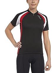 Gonso Beeke–Maillot ciclista para sumare, mujer, color Negro - negro, tamaño 42 [DE 40]