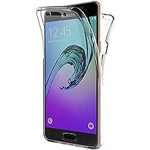 """Funda Samsung Galaxy A5 2016, AICEK Transparente Silicona 360°Full Body Fundas para Samsung A5 2016 Carcasa Silicona Funda Case (SM-A510F 5.2"""")"""