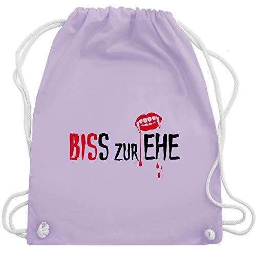 Zubehör Fledermaus Kostüm Frau - JGA Junggesellinnenabschied - Biss zur Ehe - Unisize - Pastell Lila - WM110 - Turnbeutel & Gym Bag