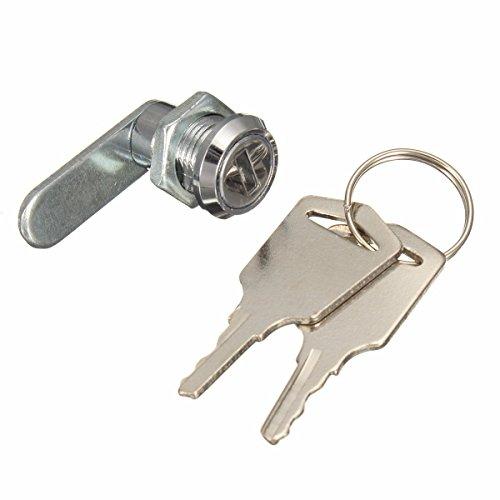 DyNamic 16mm Keyed Alike Cam Lock für Aktenschrank Mailbox Schubladenschrank mit 2 Tasten