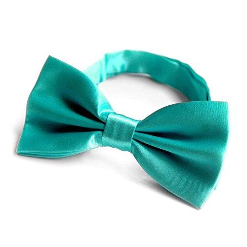 Krawatten YIXINYI Fliege Bowknot Kleid Heiraten Wild Einfarbig Sieben Farben Optional (Farbe : Tiffany Blue)