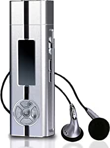 Ice Metal 256mb MP3 Player - Ultra High Spec! USB 2.0, Voice Recording & Line-In