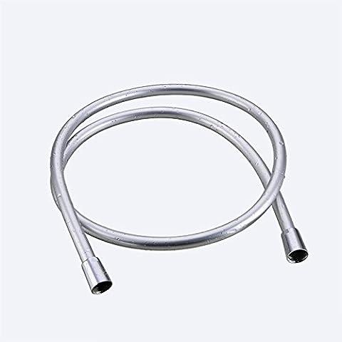 Flexible de douche de remplacement, PVC flexible Douchette flexible pour