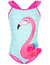 Accessorize Maillot de bain motif flamants roses Philly - Fille