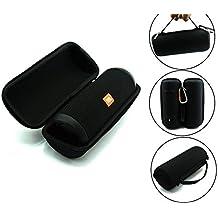 JBL Flip 3 EVA, iBetter poliéster de protección de llevar con cremallera portátil de la cubierta de la bolsa bolsa de bolsa de soporte para JBL Flip 3 III EVA Wireless Bluetooth Speaker (Negro)