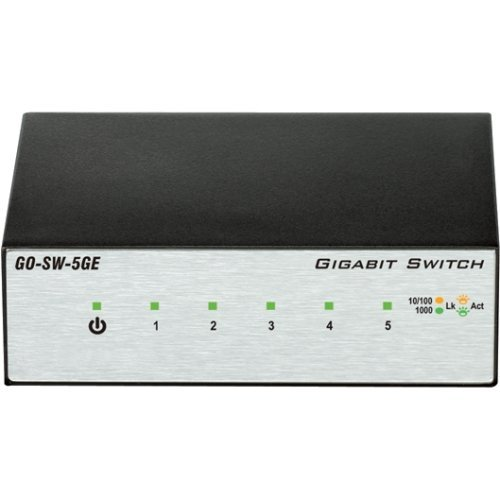 D. Link Go. Sw. 5Ge 5. Port Gigabit Unmanaged Metal Desktop Switch . 5 Ports . 5 X Rj. 45 . 10 100 1000Base. T . Desktop Product Type Routing Switching Devices Switches Bridges  available at amazon for Rs.6617