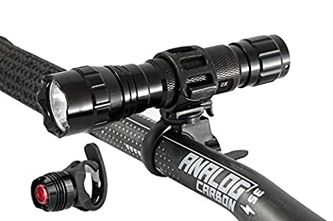 Love2PedalUK® Cree Front Bike Bicycle Light - LED Torch 1000