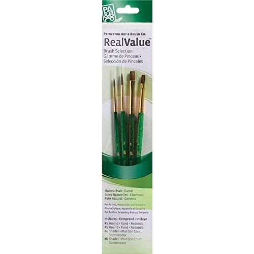 Princeton Brush Value Pack- #9110 Natural Camel Hair by Princeton - Value Pack Von Camel
