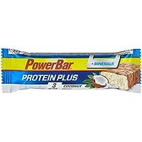 PowerBar Protein Riegel mit Mineralien, Magnesium und Calcium – Eiweiß-Riegel, Fitness-Riegel mit Vollmilchschokolade – 30 x 35g Kokos