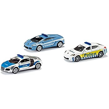 Siku 6302 - Véhicule Miniature - Coffret Voitures De Police X3