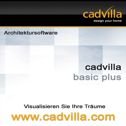 cadvilla basic plus, Architektur 2D/3D CAD Software / Programm