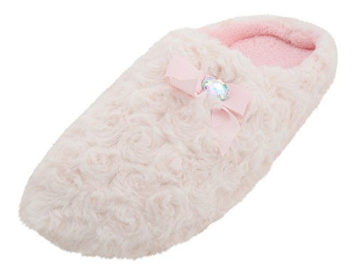 slumberzzz-chaussons-pour-femme-rose-rose-38-eu