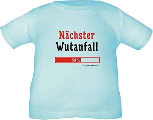 Baby und Kinder T-Shirt Nächster Wutanfall / Größe 60 - 164 in 10 Farben Hellblau