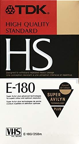 HS E-180HS - VHS - E