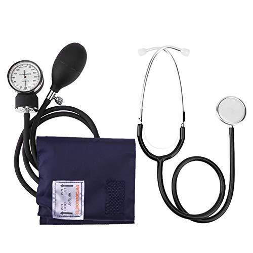 LY88 Estetoscopio Nuevo Manual Esfigmomanómetro de Brazo Medidor de presión Arterial con Dispositivo...