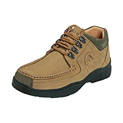 Red Chief MenS Rc1200 Camel Casual Lace-Ups 10 Uk