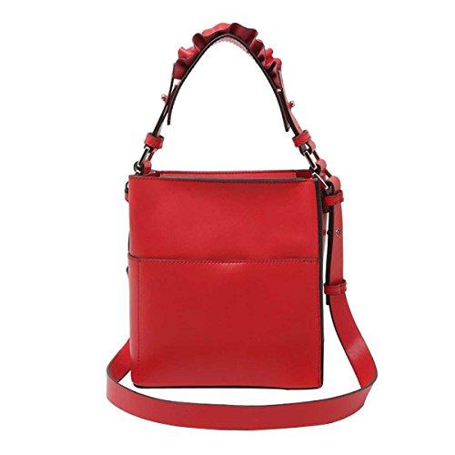 Mode Handtasche Schultertasche Messenger Bag Wannenbeutel Frauen Red