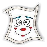 jeder-kann-basteln ♥ Sticker-Gesichter-kichern ♥ Kleiner Preis! Lustige Aufkleber (Augen, Nase, Mund) für Kinder (klein)
