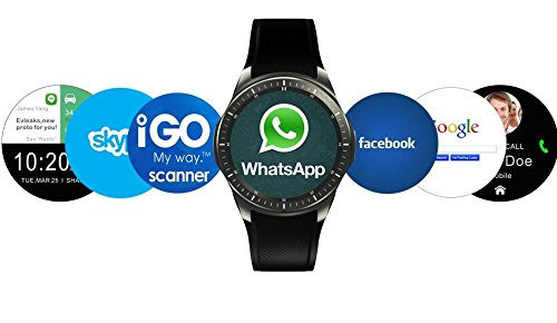 Estar high quality smart calling watch with all functions of smartphones compatible with Samsung I9301I Galaxy S3 Neo  available at amazon for Rs.4999