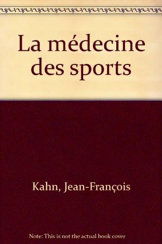 La médecine des sports