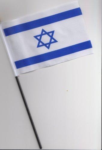 Israel Flag à main 25 cm