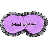 Daxey - Duplex Seide Schlafaugenmaske Augen Shade Schlafmaske Black Mask Verband auf Augen für Sleeping [Lila] preisvergleich bei billige-tabletten.eu