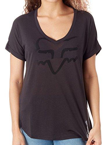 Fox Girls T-Shirt Responded Schwarz Gr. S