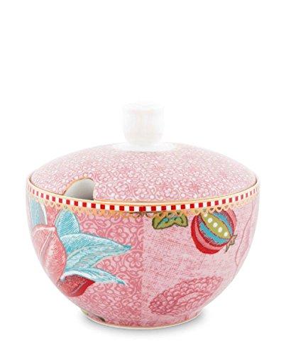 Pip Studio Sugar Bowl Spring to Life   pink   300 ml