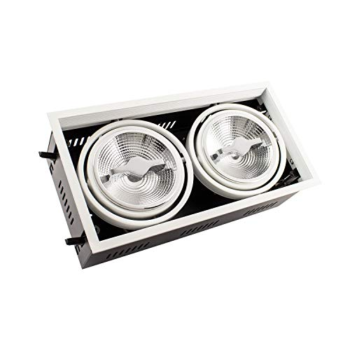 Foco LED CREE-COB Direccionable AR111 30W Regulable Blanco Neutro 4000K efectoLED