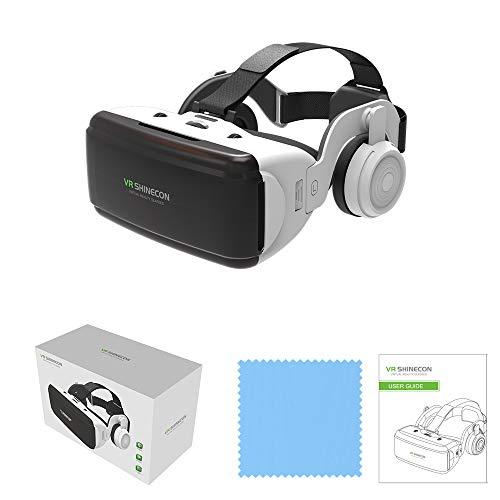VR 3D-Virtual-Reality-Brille HiFi Headset Integriert 3 D Viedos 3 D 360° Videos Unterstütze VR...