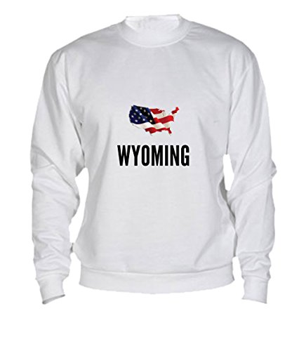 Felpa Wyoming city White