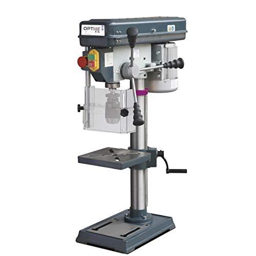 Stürmer Optimum 3008161SET Optimum Tischbohrmaschine OPTIdrill B 16, Bohrtisch dreh- und neigbar, Säulendurchmesser: 60 mm