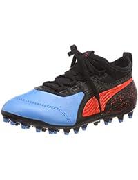 Puma One 19.3 MG Jr, Chaussures de Football Mixte Enfant