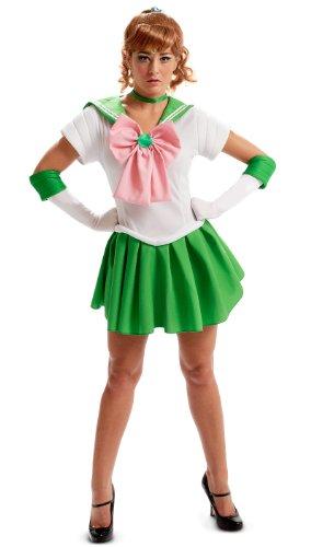 Sailor Moon Sailor Jupiter Adult Costume Halloween Size: Small (japan (Jupiter Halloween Kostüm)