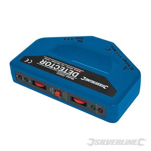 Silverline 288659 3-in-1 Detector 1 x 9 V (PP3)
