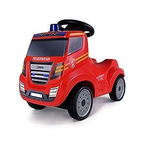 Ferbedo Feuerwehr-Truck Rutscher Iveco Magirus Pedales y empuje Coche - Juguetes de montar (300 mm, 590 mm, 440 mm, 5,2 kg)