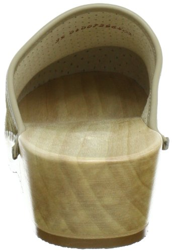 Berkemann Standard-Toeffler Unisex-Erwachsene Clogs Beige (Desert)
