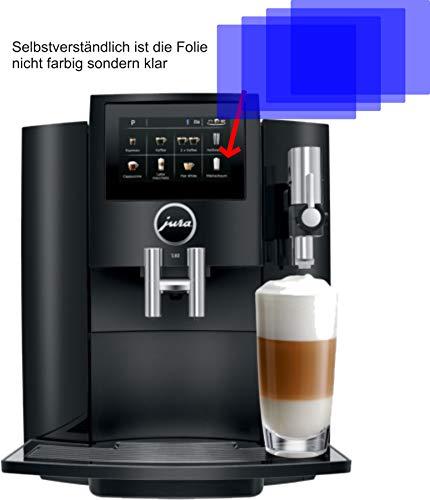 4X ANTIREFLEX matt Schutzfolie für Jura S80 15204 Kaffeevollautomat Displayschutzfolie...
