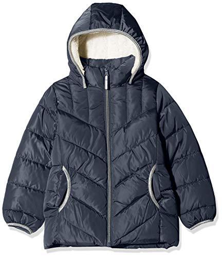 NAME IT Mädchen NKFMUS Puffer Jacket Camp Jacke, Blau Dark Sapphire, (Herstellergröße: 140)