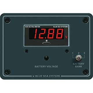 Blue Sea Systems 8051 DC Digital Voltmeter Panel by Acr Electronics