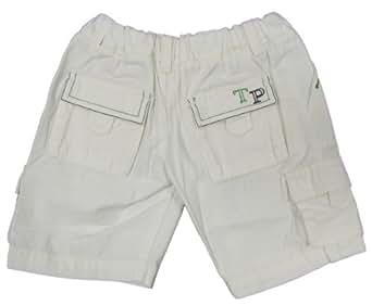 "TUTTO PICCOLO ""Golf"" Baby Jungen Hose Pants (Weiß/Grün)"