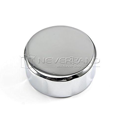 pedgeo (TM) 2015universel de 35mm chrome Cover Cap Réservoir d'huile pour Honda en aluminium pour Suzuki pour Yamaha C20