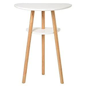 La chaise longue 35-1M-004 Console Oaky Hêtre Blanc 57 x 30 x 80,5 cm