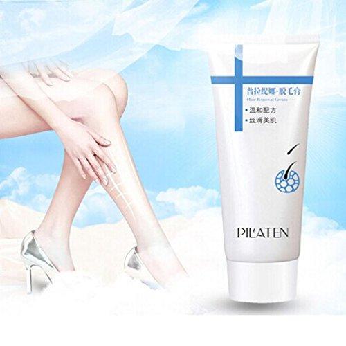 Haarentferner Creme, Transer® schmerzfreie Haarentfernung Haarentfernung Creme 100g für Körper Bein Achselhöhle Unisex Haarentfernung Creme